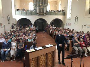 Konzert ev. Johanneskirche 23.07. 2017