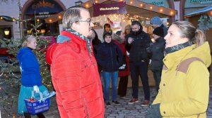 Flashmob auf dem Villingen Weihnachtmarkt 2017